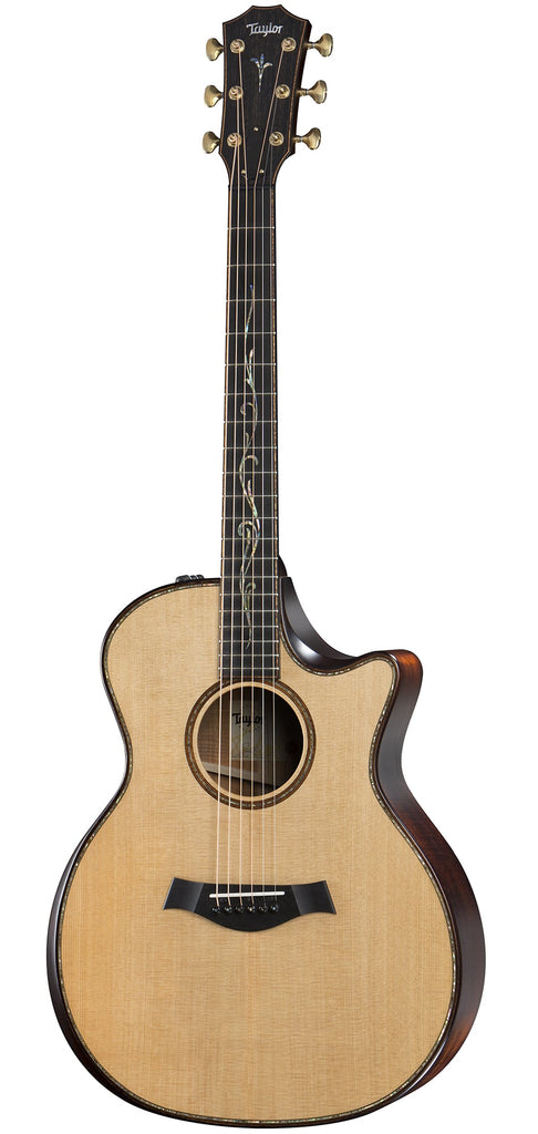 Taylor K14ce Builder's Edition Kona Burst with V-class Bracing Acoustic Guitar - Natural