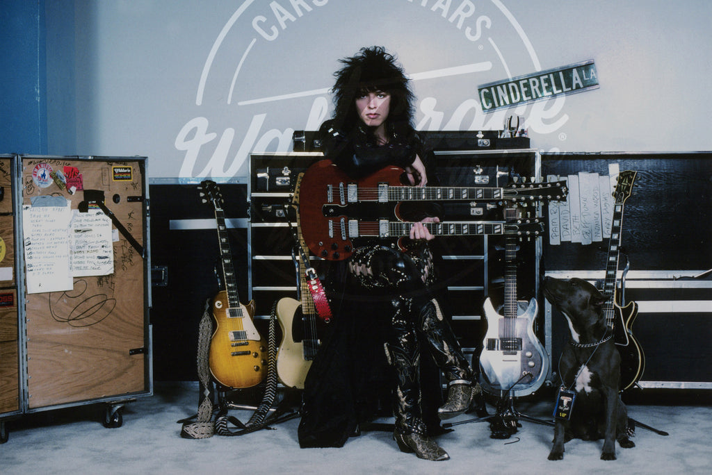 Mark Weiss: Tom Keifer 1988: Signed Print - Walt Grace Vintage