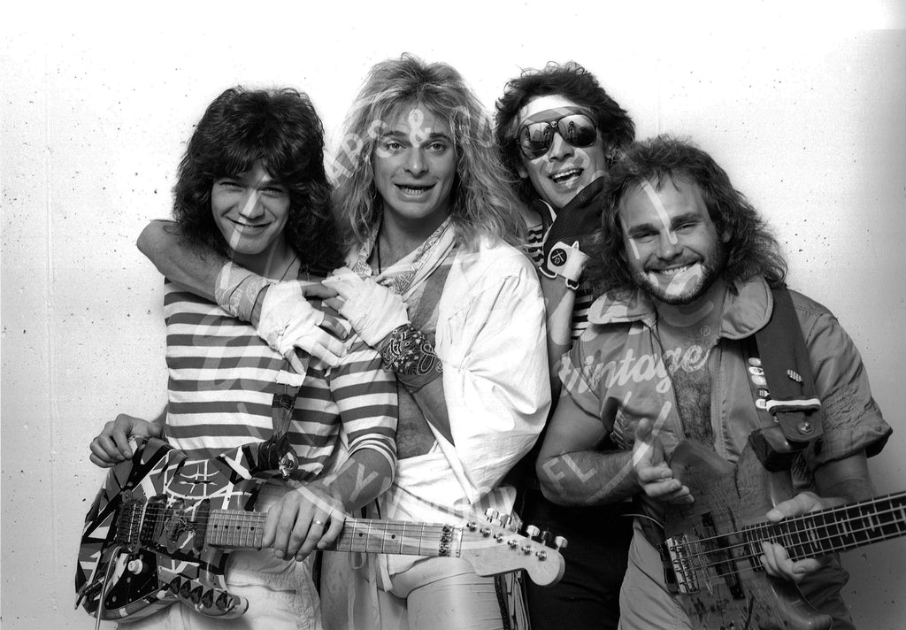 Mark Weiss: Van Halen 1981: Signed Print - Walt Grace Vintage