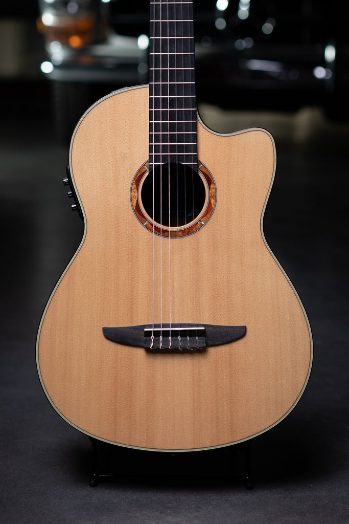 Yamaha NCX900R Nylon String Acoustic-Electric Guitar - Natural - Walt Grace Vintage