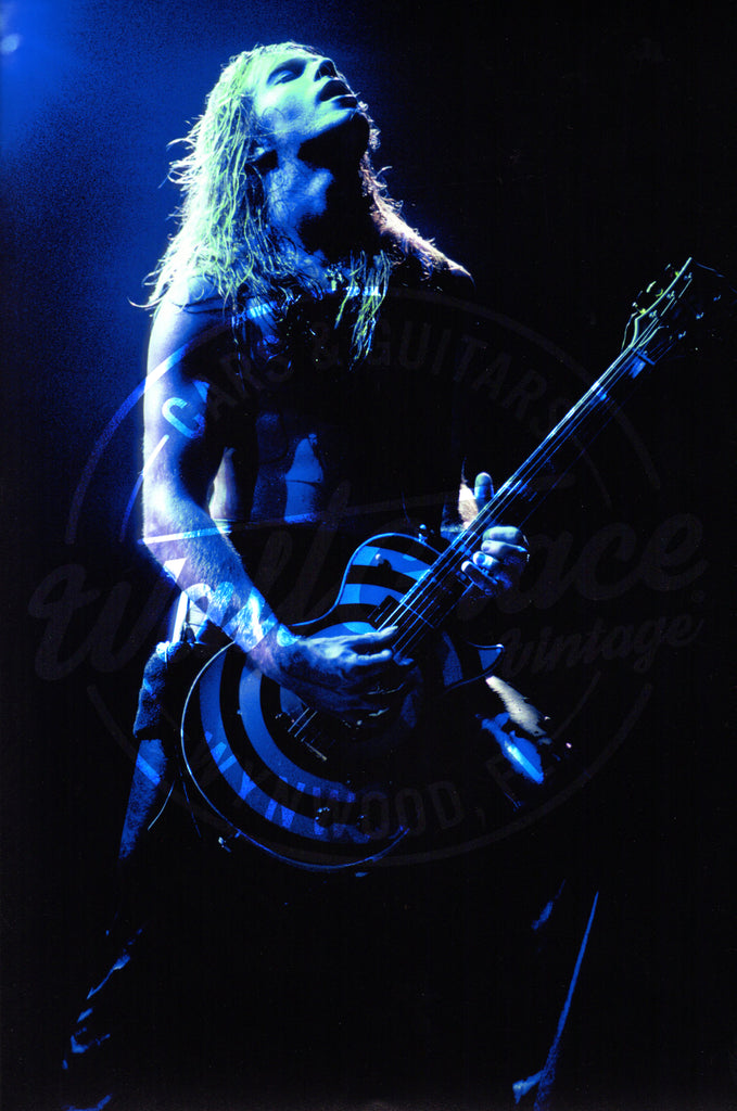 Mark Weiss: Zakk Wylde 1988: Signed Print - Walt Grace Vintage