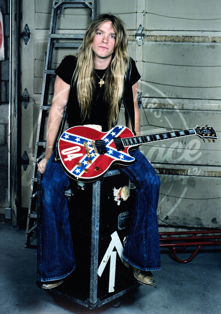 Mark Weiss: Zakk Wylde 1990: Signed Print - Walt Grace Vintage