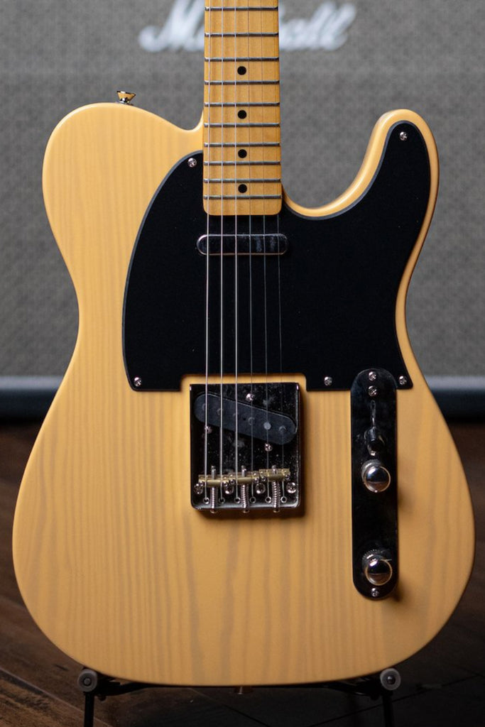 Squier Classic Vibe '50s Telecaster Electric Guitar - Butterscotch Blonde - Walt Grace Vintage