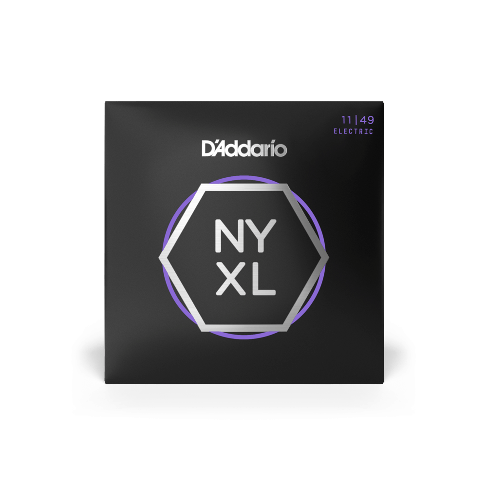 D'Addario NYXL Nickel Wound Electric Strings -.011-.049 Medium - Walt Grace Vintage