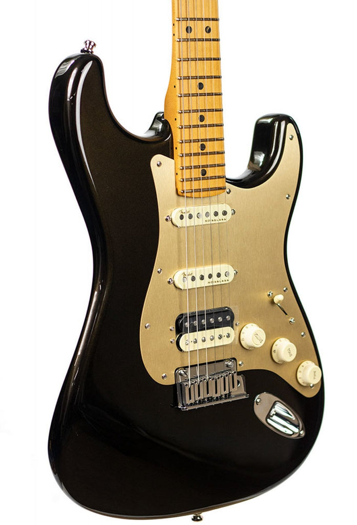 Fender American Ultra Stratocaster HSS Electric Guitar - Texas Tea