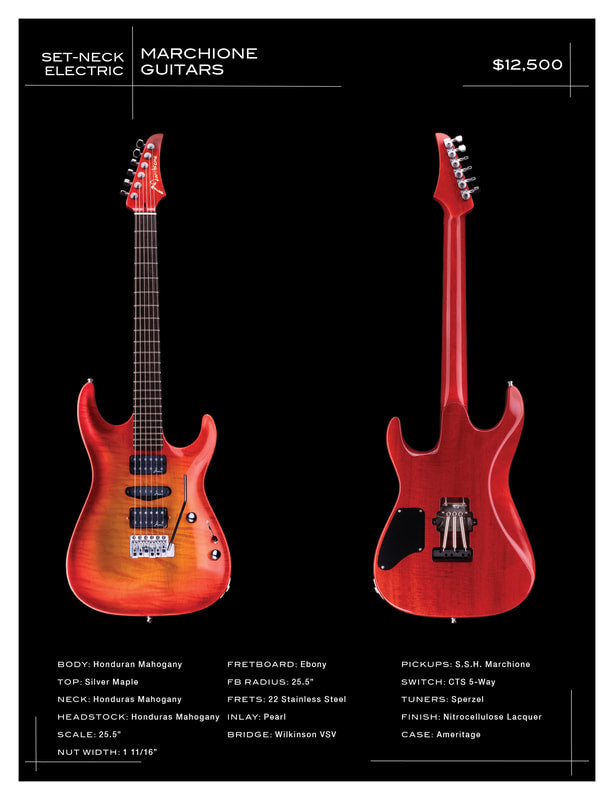 Marchione Guitars - Set-Neck Electric