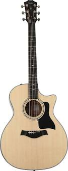 Taylor 314ce Sapele Back & Sides with V-Class Bracing Acoustic Guitar - Natural