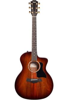 Taylor 224ce-K DLX with Layered Koa Back & Sides Acoustic Guitar - Shaded Edgeburst