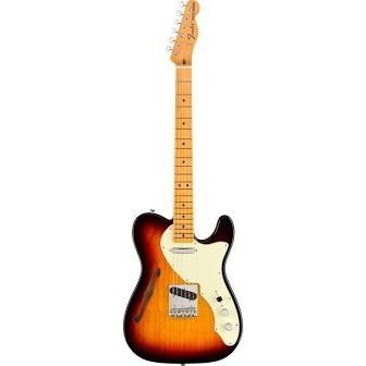 Fender American Original 60's Telecaster Thinline Electric Guitar - 3 Color Sunburst