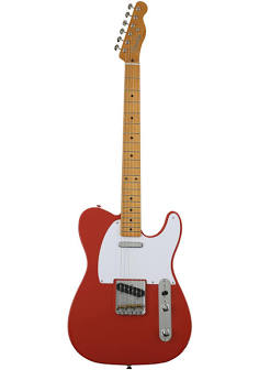 Fender Vintera '50s Telecaster Electric Guitar - Fiesta Red