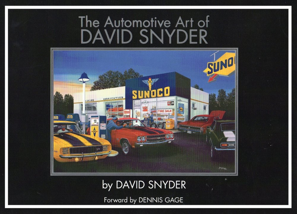 The Automotive Art of David Snyder - Walt Grace Vintage