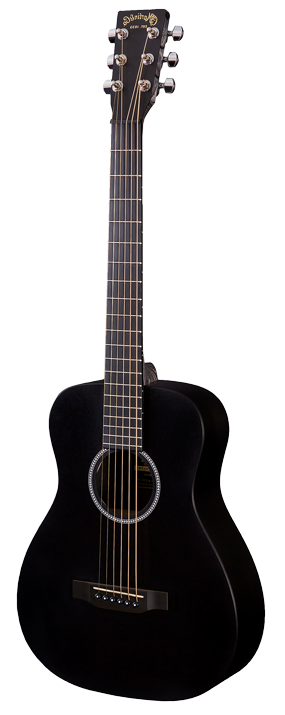 Martin LX Black Little Martin Left Handed Acoustic Guitar - Black