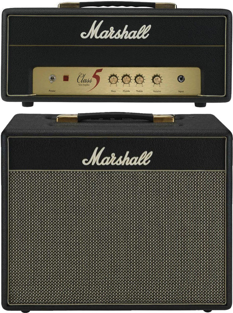 2011 Marshall Class 5 Tube Head and Extension Cabinet