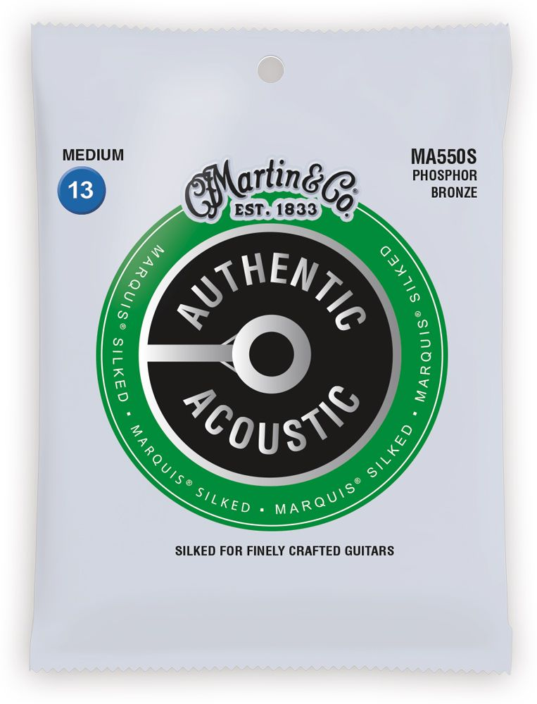 Martin Authentic Acoustic Marquis Silked Strings - Walt Grace Vintage