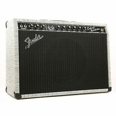 "Fender 2019 Limited Edition '65 Deluxe Reverb 22-watt 1x12"" Tube Combo Amp FSR Chilewich"