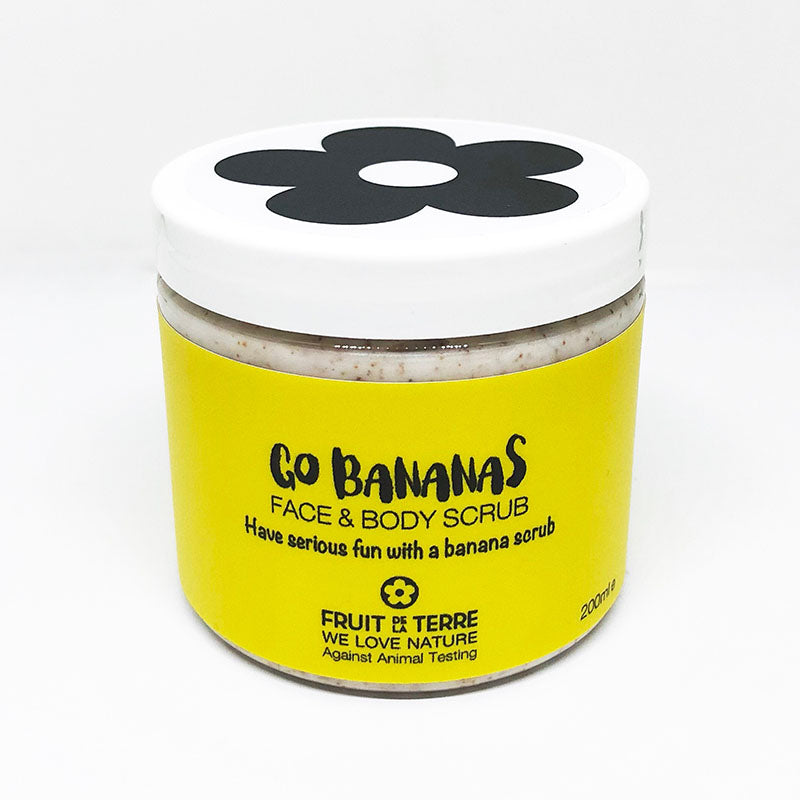 GO BANANAS FACE & BODY SCRUB