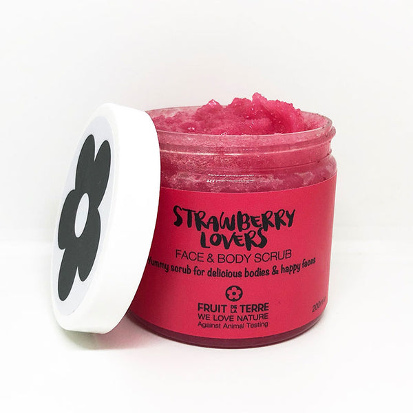 STRAWBERRY LOVERS FACE & BODY SCRUB