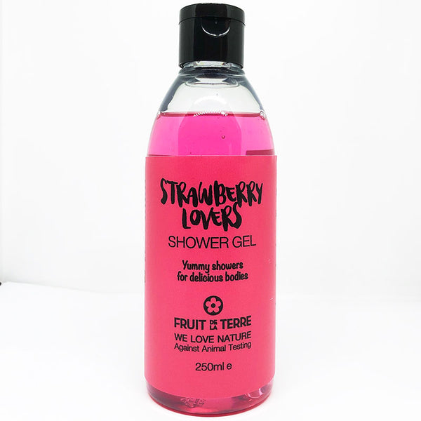 STRAWBERRY LOVERS SHOWER GEL