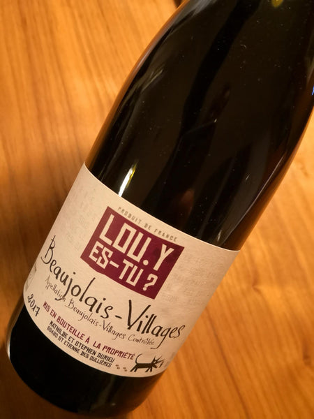 Beaujolais Villages Lou. Y es Tu 2017 - BBN
