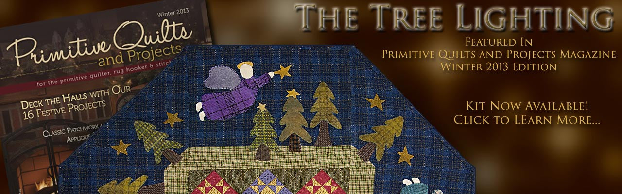 Learn more about The Tree Lighting Quilt Kit