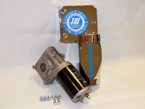 Electric Apache 50:1 Ratio Gear Motor 12v | Tarping-Systems-Inc.