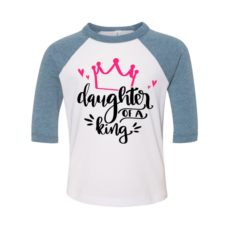 Daughter of a King Three-Quarter Sleeve Tee