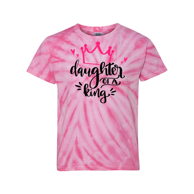 Daughter of a King Tie Dye T-Shirt