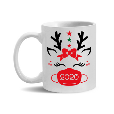 2020 Red Reindeer 11oz. Mugs