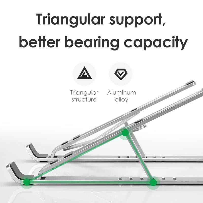 Ergonomic Adjustable Foldable Laptop Stand