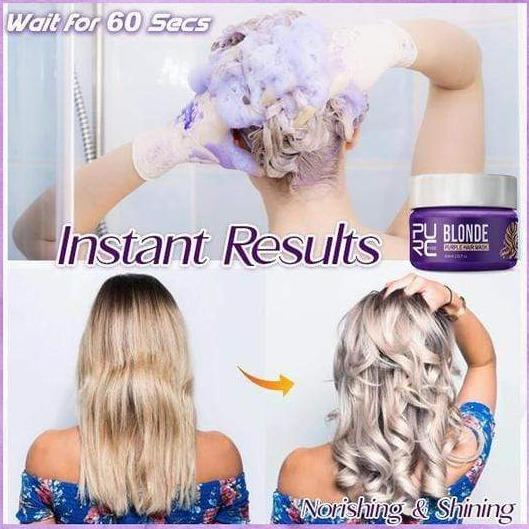 Hair-Clinic™ Anti-Brassy Hair Mask Cayyogo