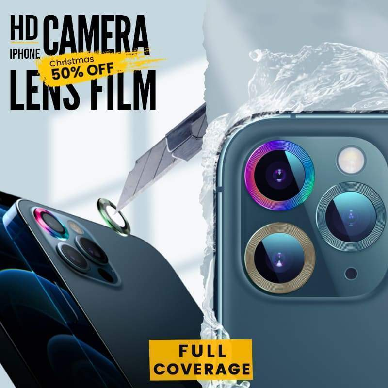 HD iPhone Camera Lens Protective Film (3PCS) Cayyogo