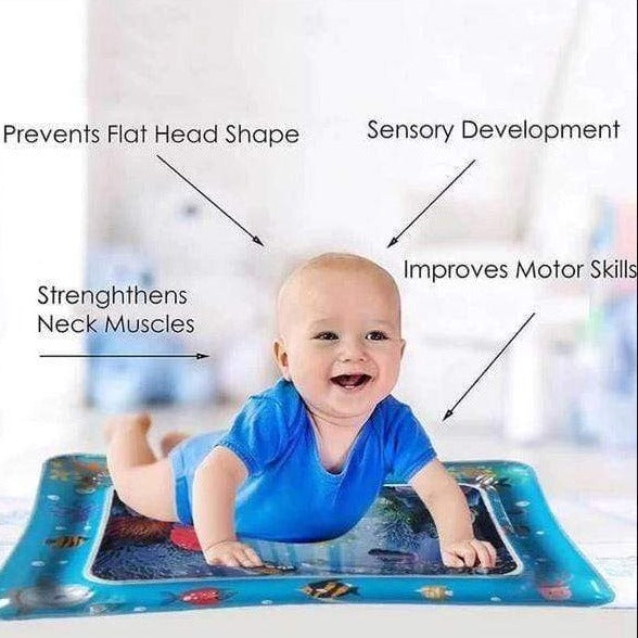 Inflatable Baby Water Play Mat Cayyogo