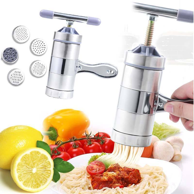 Manual Stainless Steel Pasta Maker Cayyogo