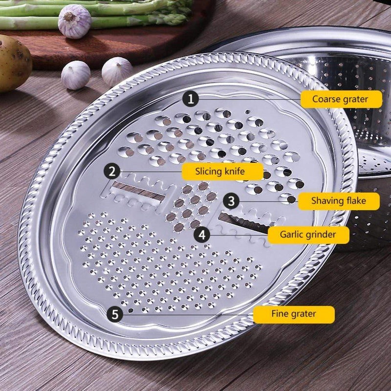 Multi-functional Stainless Steel Basin Grater