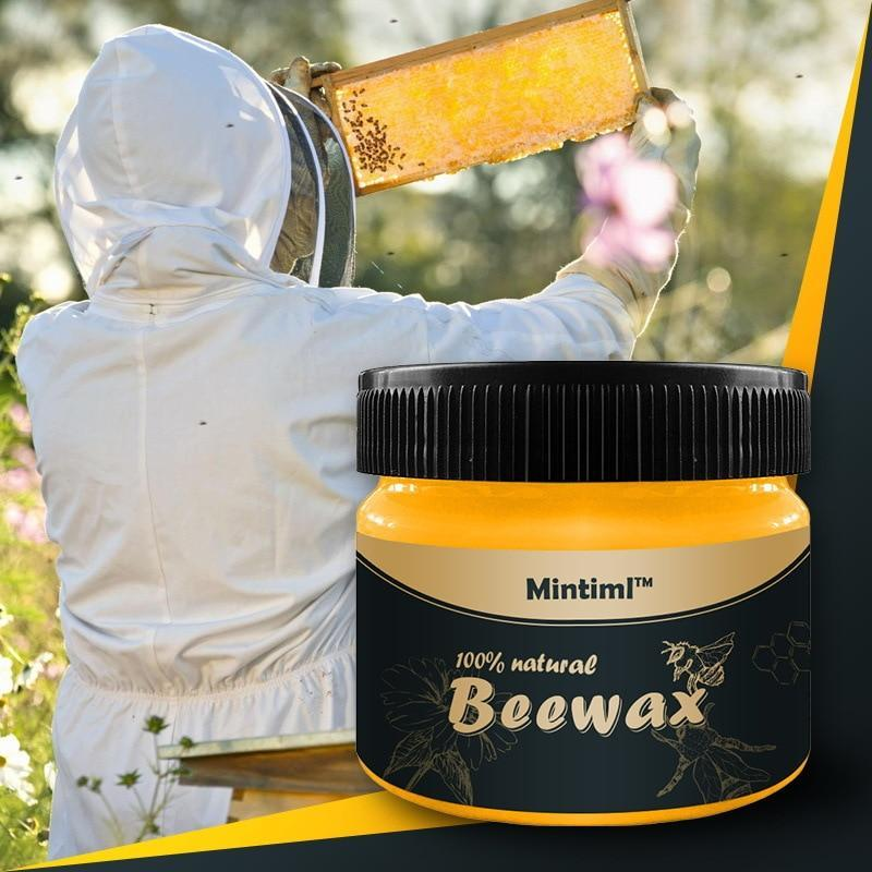 Natural Beeswax Wood Furniture Polisher