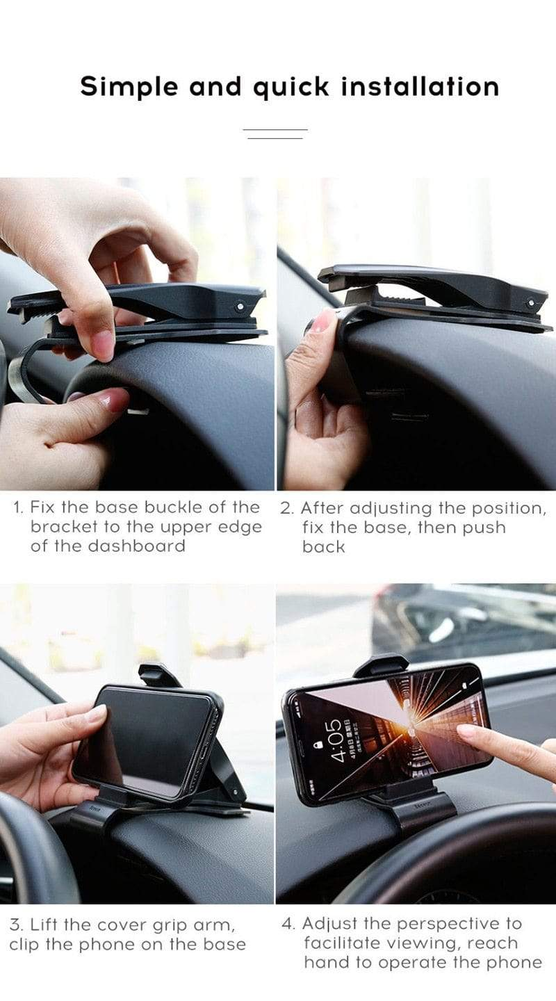 UNIVERSAL 360° CAR PHONE CLIP HOLDER