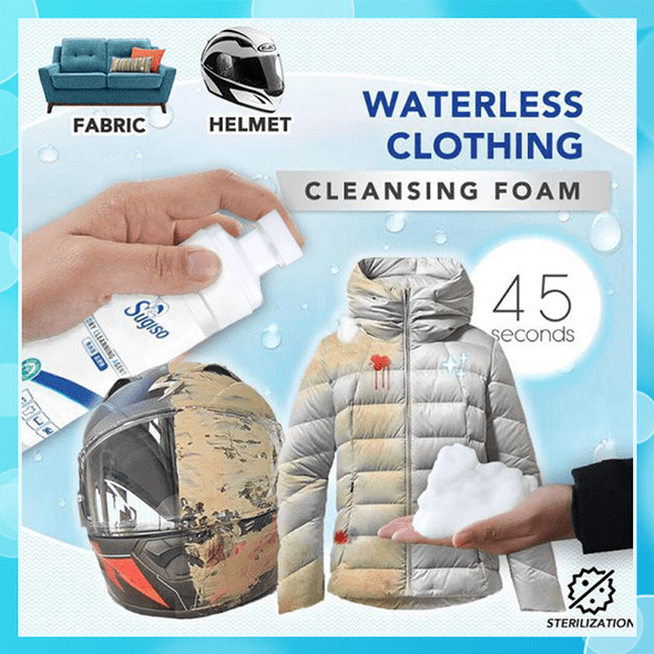 Waterless Fabric Cleaning Foam Cayyogo