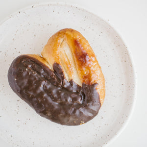 Chocolate-Dipped Palmier