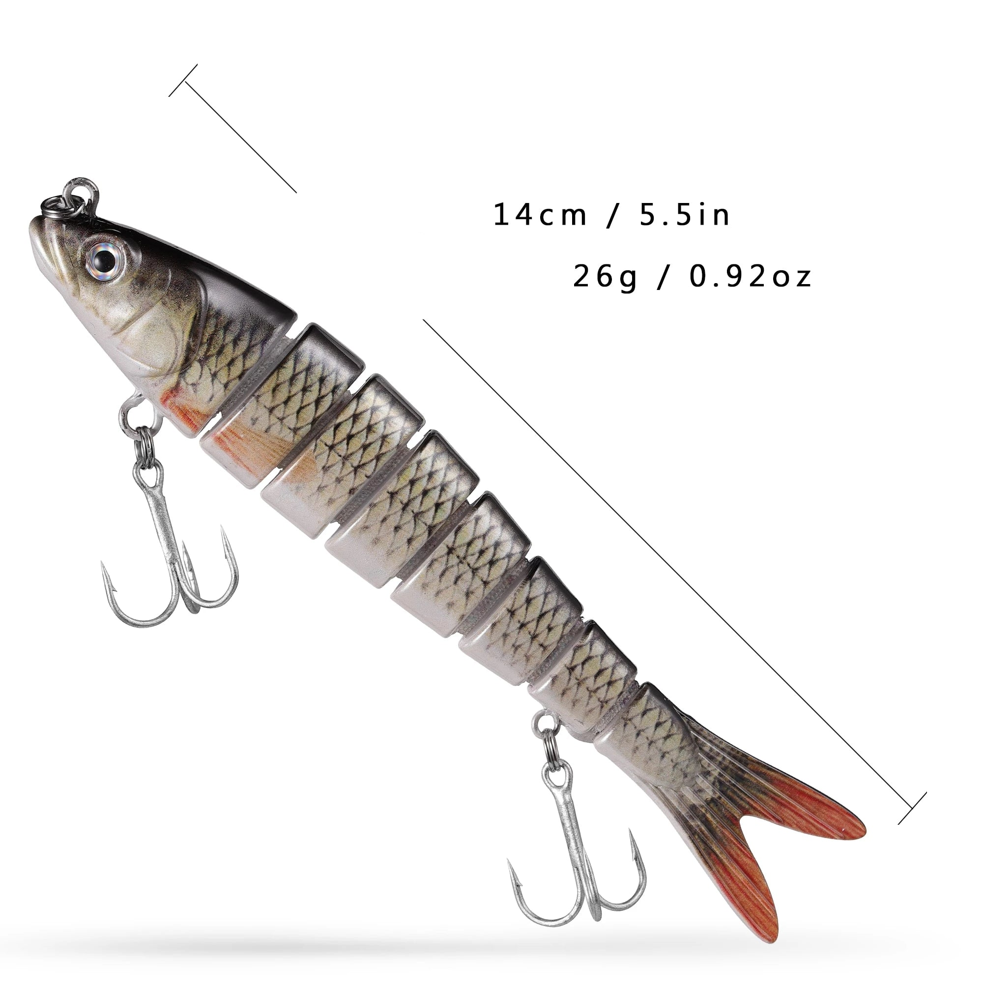 Lifelike Fishing Lure