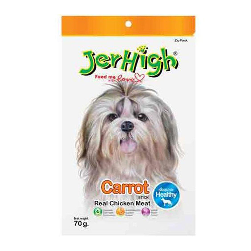 Jerhigh Real Chicken Meat Carrot Stick - 70g