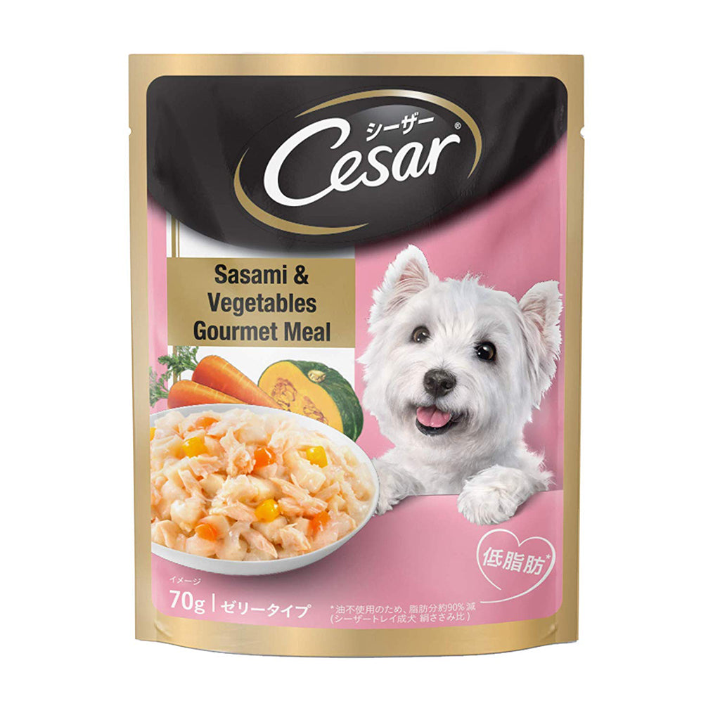 CESAR  SASAMI AND VEGITABLES GOURMET MEAL 70G