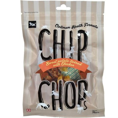 Chip Chop Sweet Potato Twinned With Chicken 70G