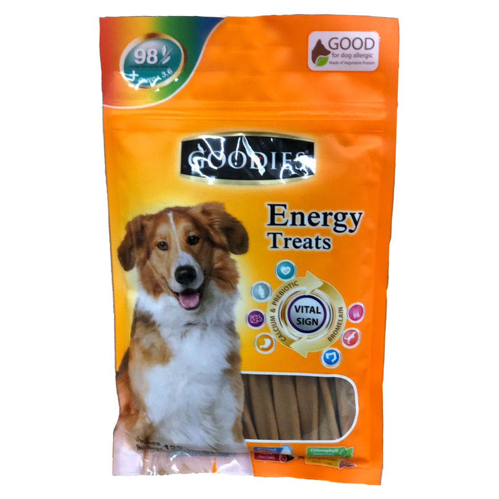 Goodies Energy Treats Liver Spiral Sticks