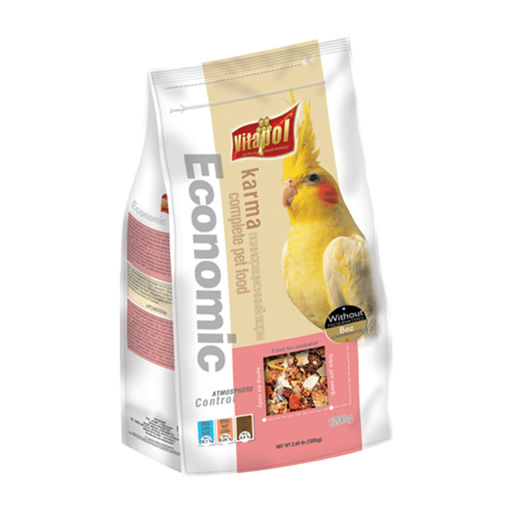 Vitapol Economic Food For Cockatiel - 1.2 Kg
