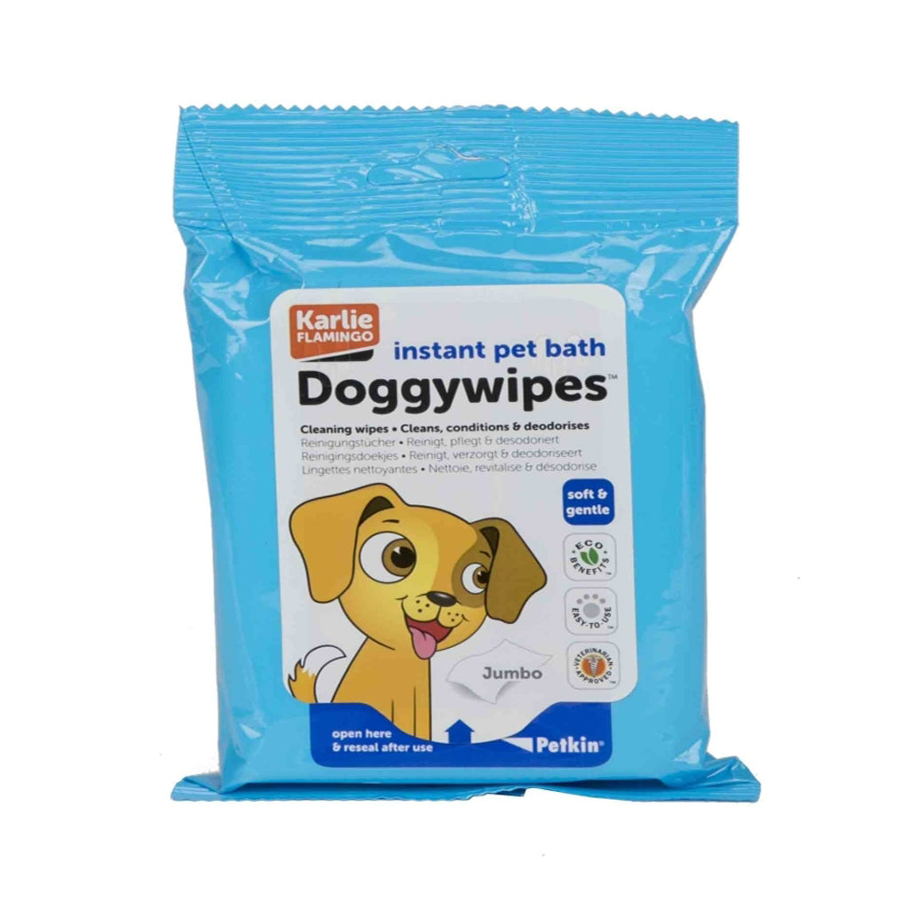 Petkin Doggy wipes 15PC