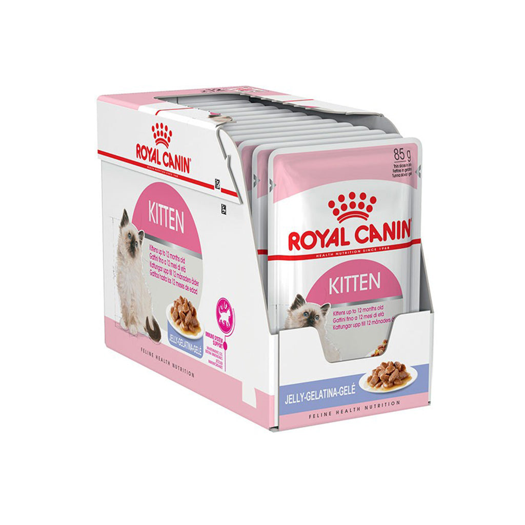 Royal Canin Kitten Instinctive in Jelly 85g (Pack of 12)