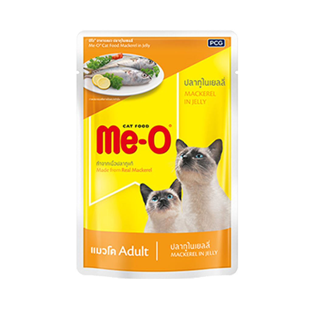 Me-O Mackerel in jelly 80g (Pack of 12)