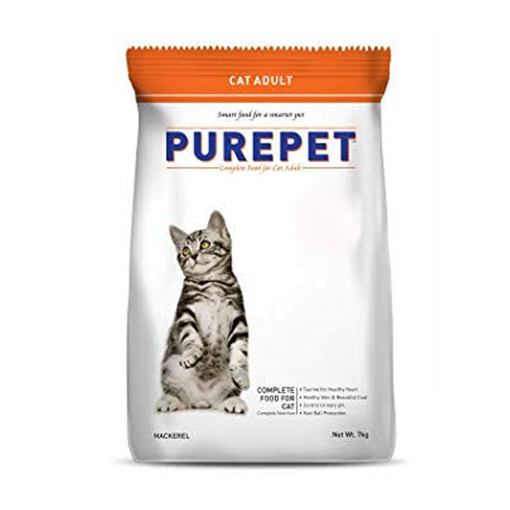 Purpet Cat Food Adult Mackerel