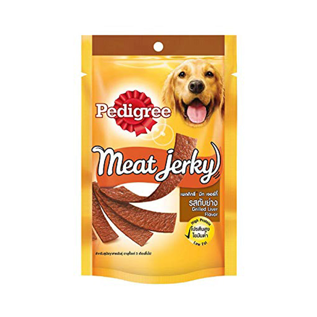 Pedigree Meat Jerky Grilled Liver Strip 80G