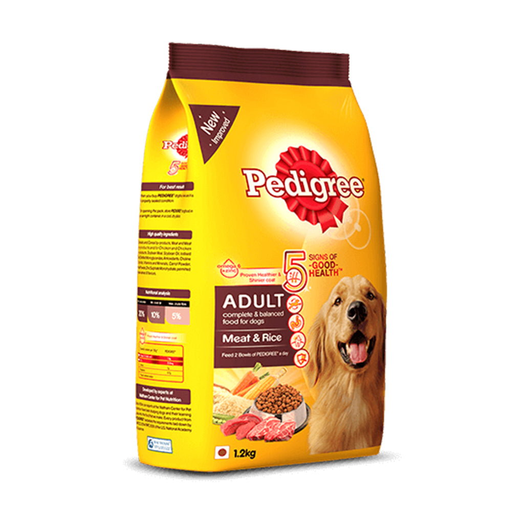 Pedigree Adult Meat And Rice